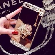 Oppo R9S Mobile Phone Case R11 A59 Mirror Tpu Diamond R9plusCreative Protective Cover A39 R7SA57 (Color: Love Stent / Size:Oppo R9Splus) - intl