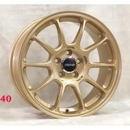 全新鋁圈 wheel S888 16吋鋁圈 4孔100 5孔100 5孔108 5孔114.3 金色