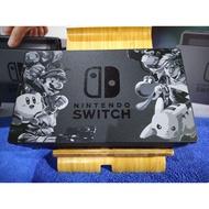 NS Switch 二手 極新 附原廠HDMI 原廠底座 電視盒 任天堂明星大亂鬥同捆