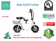 Fiido Q1 UL2272 seat electric scooter