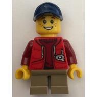 樂高人偶王 LEGO 經典城市男孩#31052 twn261 Camper