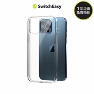 【SwitchEasy 美國魚骨】CRUSH 透明軍規空壓防摔 iPhone 12 Pro Max 手機殼(耐摔 防撞 氣墊 軍功 透殼)