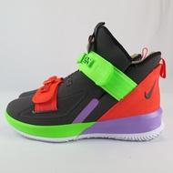 【iSport愛運動】Nike LEBRON SOLDIER XIII SFG籃球鞋 AR4228002男款 紅綠紫拼接