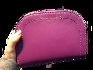 MJ紫色半月型包 非Tommy kate spade MK CK Coach BV LV Chanel Hermes