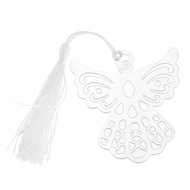 Bookmarks bookmark fringe Angel silver stainless steel for books