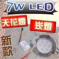 (現貨!!!) F1C33 最新款 7W LED 崁燈 天花板投射燈 LED崁燈 節能燈 投射燈 投光燈 藝術燈