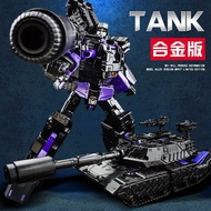 💥現貨免運🚚合金版 暗黑坦克威 變形金剛TANK 密卡登 模型
