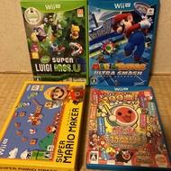 Wii U 太鼓達人 馬力歐 瑪莉歐網球 瑪莉歐製作大師 Mario maker Mario tennis 新超級路易