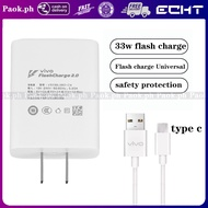 ORIGINAL Vivo Fast Charger 33W 9v/2.4A charger for type c Android Universal