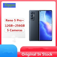 "Original Oppo Reno 5 Pro+ Plus 5G Mobile Phone Snapdragon 865 Android 10.0 6.55"" 90HZ 12GB RAM 256GB"