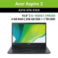 宏碁 acer Aspire 3 | A315-57G-51LH | 輕薄文書筆電 | 黑色