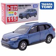 大賀屋 多美小汽車 No.115 速霸陸 FORESTER tomica 汽車 模型 合金車 玩具 L00011348