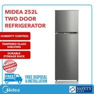 ★FREE GIFT★2 Door Fridge REFRIGERATOR MRD268 252L - 10 Years Warranty