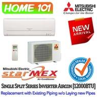 Mitsubishi Inverter Single Split Series Aircon 13000BTU MUY-GN13VA *with Replacement Services*