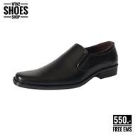 รองเท้าคัทชู ผช รองเท้าคัทชูดำ Baoji BJ3464 รองเท้าคัทชูชายบาโอจิ รองเท้าคัทชูชายเบาจิ รองเท้าหนังผู้ชาย Baoji