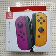 Switch joy-con L+R (日規)(霓虹紫/霓虹橘)