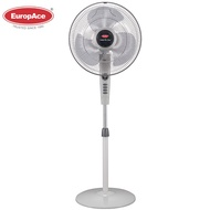 EuropAce 16 inches stand fan with timer