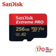 *鼎強數位館*SanDisk ExtremePRO microSDXC UHS-I(V30)(A2) 256GB 記憶卡