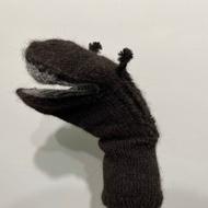 無印良品 MUJI | Found MUJI |  全新 絕版 手工製成 羊駝毛 手套 玩偶