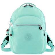 KIPLING 粉藍色波紋後背包