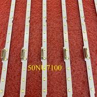 30pcs/lot LED backlight strip for Samsung 50NU7100 UN50NU7100 UE50NU7100 UE50NU7400 UN50NU7400 UE50NU7020 UN50NU6900 UA55NU7100