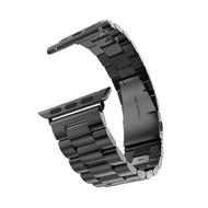 สายหนังสำหรับสายคาด Apple Watch 44มม.40มม.สายนาฬิกา Apple Watch 38มม.42มม.นาฬิกาข้อมือสายเหล็กสำหรับ Apple 5 6 Se 3 4