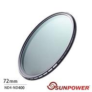SUNPOWER TOP1 72mm 可調減光鏡(湧蓮公司貨)