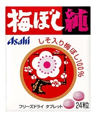 "Asahi Group Pure ""Umeboshi"" Pickled Plum Tablets (24 Tablets)"