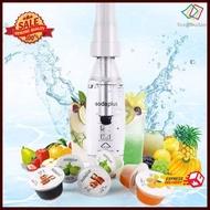FCD☆ Soda plus เครื่องทำน้ำโซดาแบบพกพา เครื่องผลิตน้ำโซดา 1000ml ที่ทำน้ำโซดา ทำโซดา เครืองทำโซดาราคาถูกที่สุด