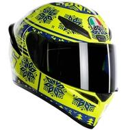 德芯騎士部品屋 義大利 AGV K1 Winter Test 2015 雪花 全罩安全帽 2018新款