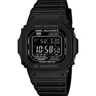 CASIO/G-SHOCK 卡西歐 GW-M5610-1B(GW-M5610-1BJF) 太陽能 電波 防水 手錶