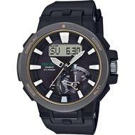 CASIO 卡西歐PRO TREK 專業戶外太陽能電波手錶 PRW-7000-1BDR