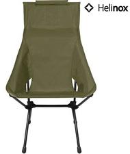 Helinox 輕量戰術高腳椅/高背戶外椅/折椅DAC/露營椅 Tactical Sunset Chair 軍綠Military olive