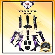 🔥READY STOCK🔥 Y125 ZR COVER SET HAYABUSA YAMAHA , STICKER STAMPED WITH 2K CLEAR