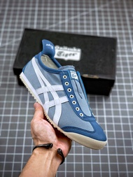 Asics Onitsuka tiger Mexico 66 Slip On One Pedal Summer New Limited Edition Lazy Shoes Skate Shoes Running Shoes Men Sports Shoes For Women Onitsuka Tiger Women