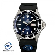 Orient FAA02008D9 Ray II Automatic Japan Movt Blue Dial Rubber 200M Men's Watch