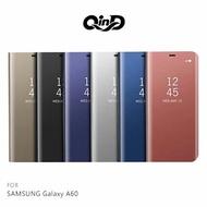 QinD SAMSUNG Galaxy A60 透視皮套