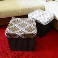方形折疊收納椅-大 收納箱多用途分類 方型收納箱收納盒