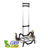 [8美國直購] UpCart MPC-1 (乘載45kg) 摺疊爬梯推車 B075KKLB3Q The All-Terrain Stair Climbing Folding Cart (只有黑色提把)