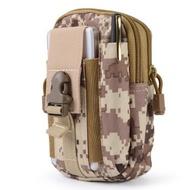 ผู้ชายยุทธวิธีMolleกระเป๋าเข็มขัดเอวกระเป๋าแพ็คถุงPocketขนาดเล็กทหารเอวPackกระเป๋าการเดินทางCampingเ...