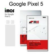 【iMos】3SAS系列保護貼 Google Pixel 5 (6吋) 超潑水、防污、抗刮