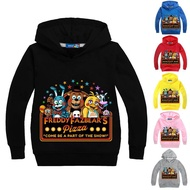 Anime Five Nights at Freddy's Hoodie Children's Hoodies New Set Head Clothing