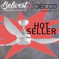 (BIG SALES! LIMITED QTY!) DECCO GOLD COAST/SYDNEY Ceiling Fan  (FREE NTUC FAIRPRICE $5 VOUCHER)