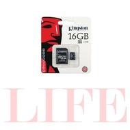 金士頓  Micro SD TF 記憶卡 含轉卡 SD卡 16G 32G 64G DXC SDHC