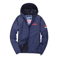 superdry windproof coat warm trench coat hooded jacket