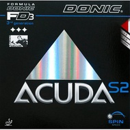 DONIC ACUDA S2 / S1 平面膠皮