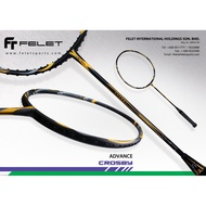 Felet Crosby (3U/4U-G1) With String&Grip(Up String Service Free) Badminton Racket