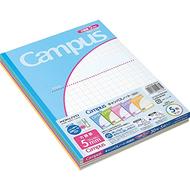 KOKUYO Kokuyo Campus notebook applications by B5 5mm grid ruled five books Roh -30S10-5X5