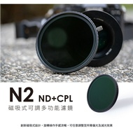 【eYe攝影】現貨 SUNPOWER N2 ND32~ND1000 磁吸式 可調多功能濾鏡 長曝 水流