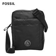 【FOSSIL】618年中慶★Sport 運動風尼龍休閒側背包 黑色  MBG9500001